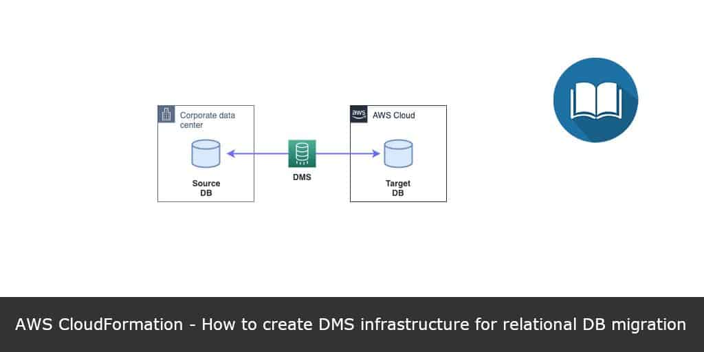 AWS-CloudFormation-How-to-create-DMS-infrastructure-for-relational-DB-migration