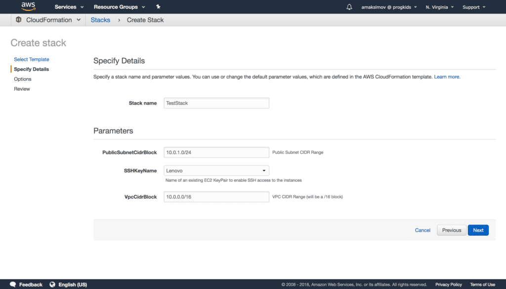 CloudFormation-Template-Launch-Step-2