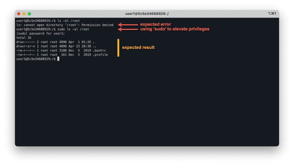 3. How to allow user using sudo in Ubuntu Linux - Using sudo command