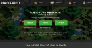 How to install Minecraft client on Ubuntu