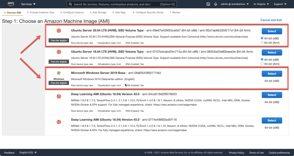1. How to Setup a Minecraft Server on Ubuntu, Windows, and CentOS in AWS cloud - Launching EC2 instance - AMI