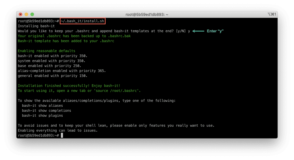 11. Which terminal is better - Bash VS Zsh - Bash typo example - Bash - bash_it installation