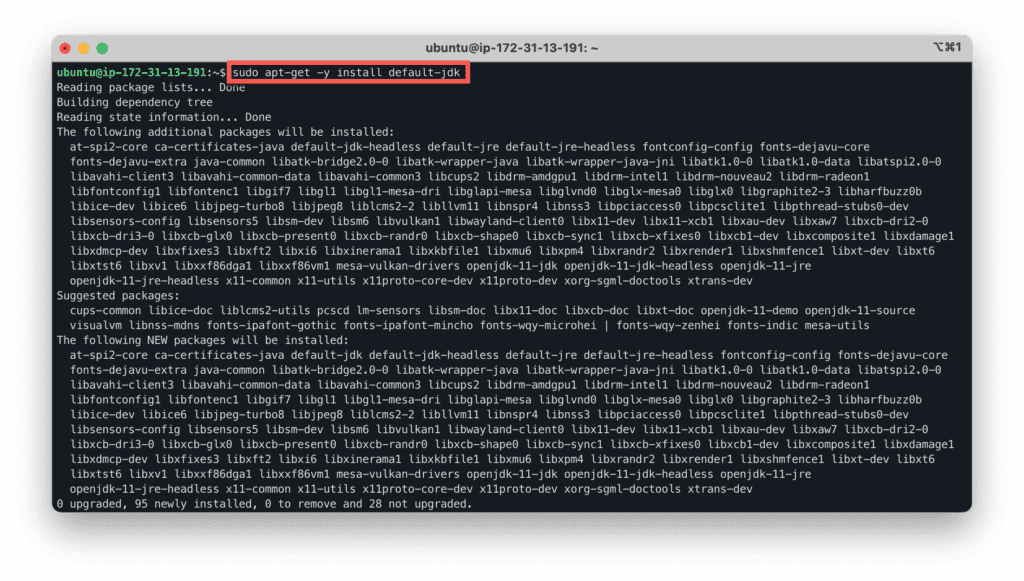 15. How to Setup a Minecraft Server on Ubuntu, Windows, and CentOS in AWS cloud - Launching EC2 instance - apt-get install default-jdk
