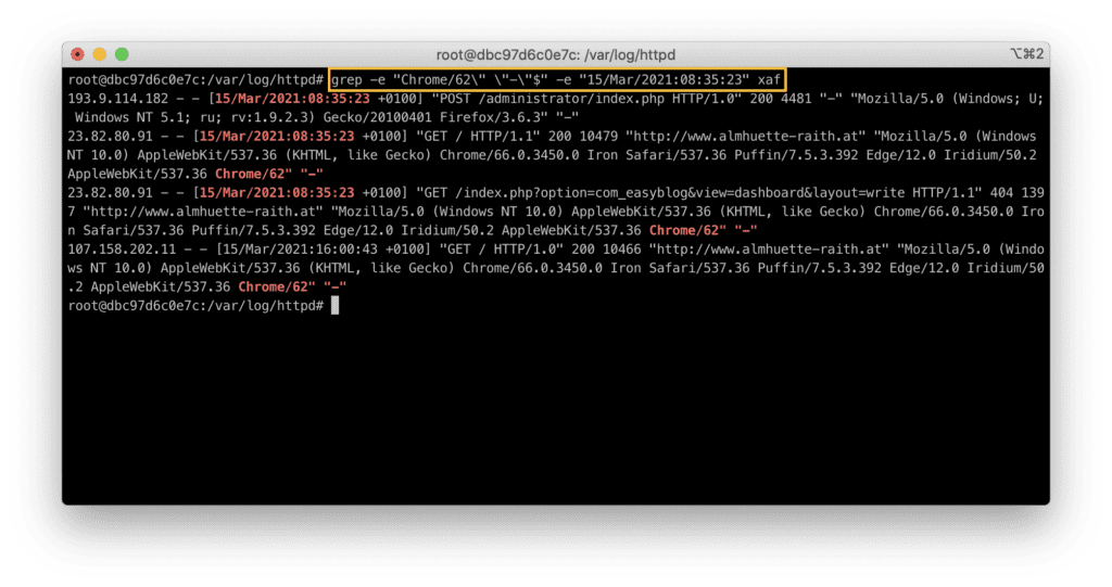 15. How to use grep in Linux - Matching multiple patterns at a time (AND condition)