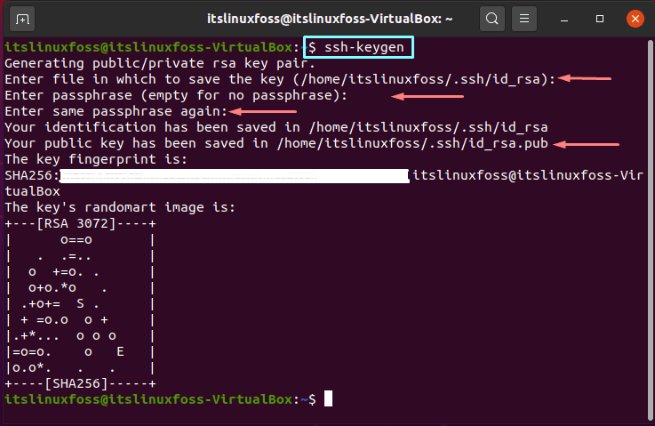 3. How To Install and Configure Ansible on Ubuntu - ssh-keygen
