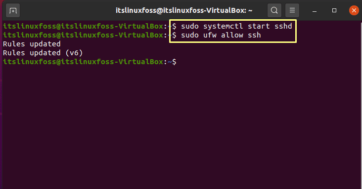 6. How To Install and Configure Ansible on Ubuntu - ufw allow ssh