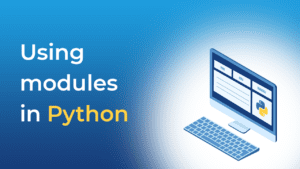 Using modules in Python