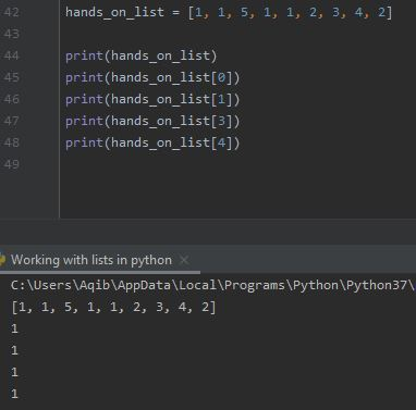 Working With Lists In Python - Lists Allow Duplicates