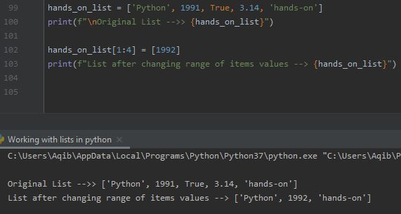 Working With Lists In Python -Pass Less Items Than Range