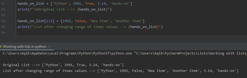 Working With Lists In Python -Pass More Items Than Range